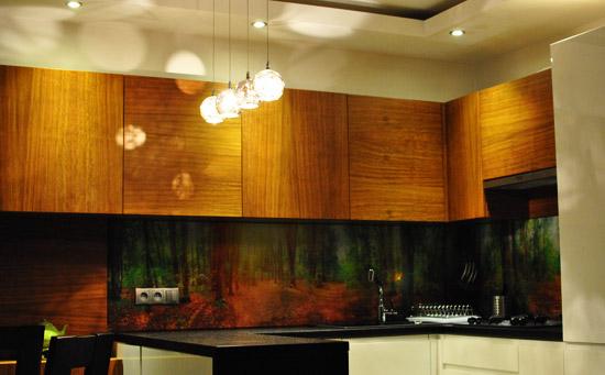 Oświetlenie górne w kuchni