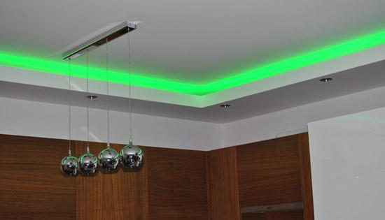 Oświetlenie Sufitowe Led W Kuchni Blog Soledpl